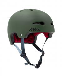 Rekd Ultralite In-Mold Helmet Dark Green L/XL