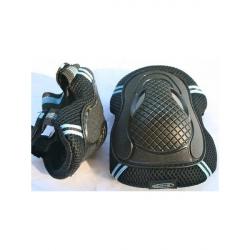 Micro Elbow & Knee Pads Blue-Black M