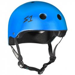 S-One V2 Lifer Helmet (L size) (Cyan Matte)