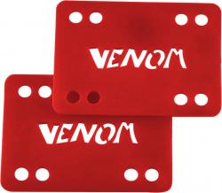 Venom 1-8 Risers set of 2 Red