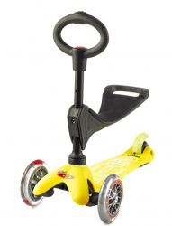 Micro Mini 3 in 1 Deluxe (Yellow)