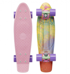 Penny Boards '22' with design (Pink)