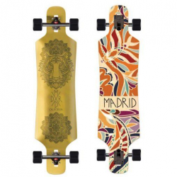 Madrid Spade Golden Tigress Longboard