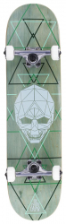 Enuff Geo Skull Complete (Green)