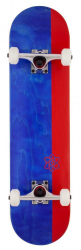 Rocket Complete Skateboard Invert Series (Red/Blue)