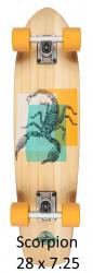 D Street Cruiser Hornet/Beetle/Scorpion/Nautical (Orange)