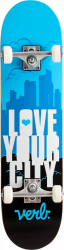 Verb Skateboard Theory One/Love Your City (Blue)