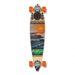 Punked Wave Scene Longboard