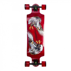 "Landyachtz Switch 35"" Eagle Red/Landyachtz Switch 40"" Eagle Blue - Complete (Red)"