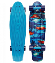 Penny Boards '27' with Design (Blue)