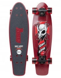 Penny Boards '27' with Design (Red/Black)