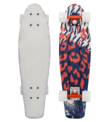 Penny Boards '27' with Design (Red/Blue)