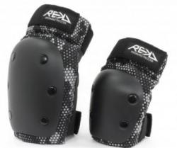 REKD Youth Heavy Duty Double Pad Set Black color (Default)
