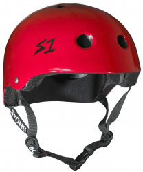 S-One V2 Lifer Helmet (M size) (Red/Silver)