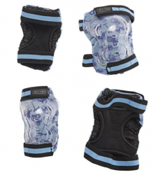 Micro Elbow & Knee Pads (Blue) (Default) L