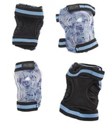 Micro Elbow & Knee Pads (Blue) (Default)