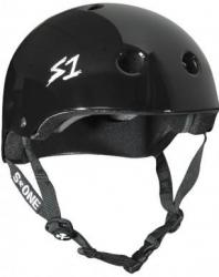 S-One V2 Lifer Helmet (L size) (Black/White)