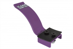 Professional Slamm flex brakes for scooter with 100 mm wheels (Violet)