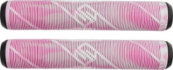 Striker Pro Scooter Grips MultiColor  (Pink/White)