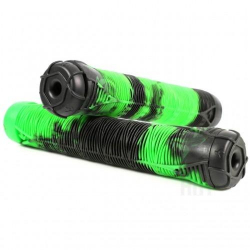 BLUNT HAND GRIP V2 (2 pair of ends) (Green/Black)