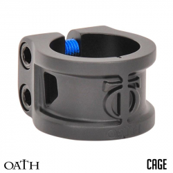 TRIAD OATH CLAMPS 2 BOLTS CAGE  (Black)