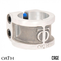 TRIAD OATH CLAMPS 2 BOLTS CAGE  (Silver)