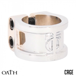 TRIAD OATH CLAMPS 2 BOLTS CAGE  (White)