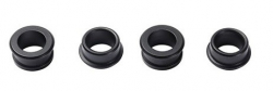 Blunt spacers for 28mm wheels