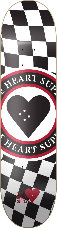 "Heart Supply Skateboard Deck 8"""