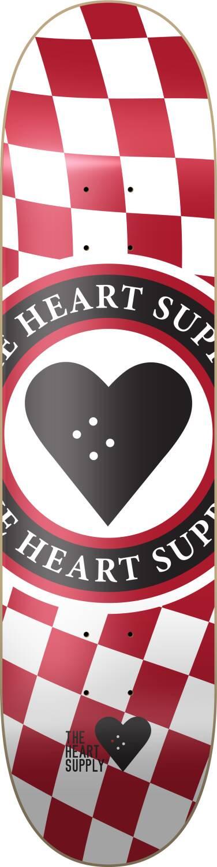 "Heart Supply Skateboard Deck 8.25"""
