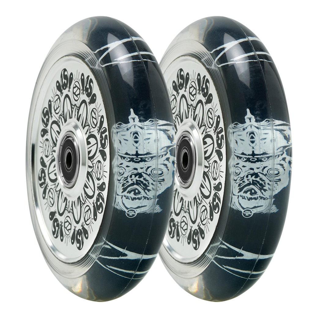 Fuzion Hollowcore Wheels 110mm 2-pack