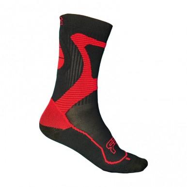 FR - NANO SPORT SOCKS BLACK/RED
