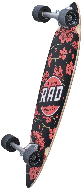 RAD Mini Pintail Longboard Cherry Blossom