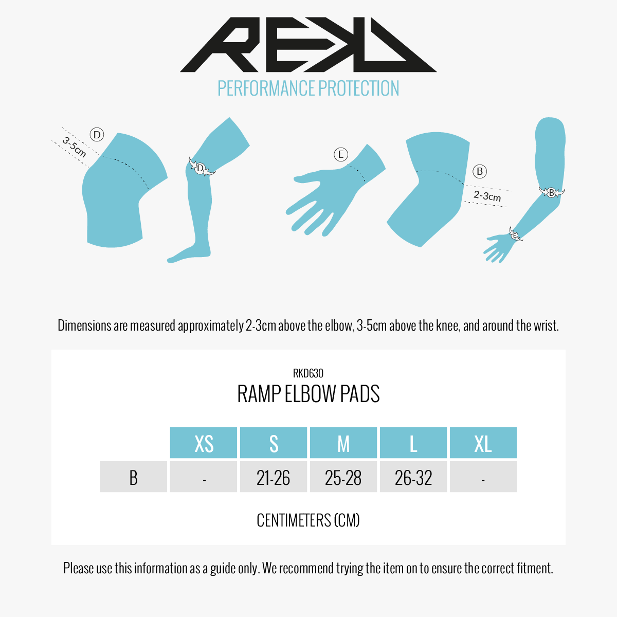Rekd Ramp Elbow Pads