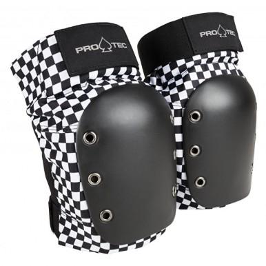 Pro-Tec Knee Pads White/Black
