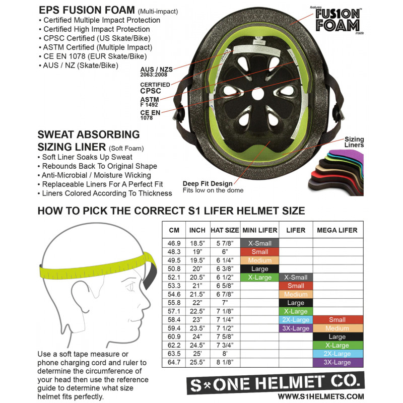 S-One V2 Mega Lifer Helmet