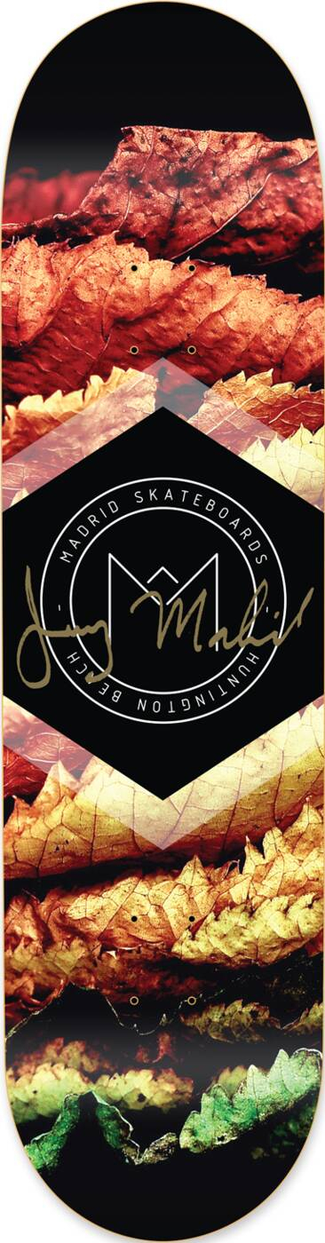 "Madrid Skateboard Deck 8"""